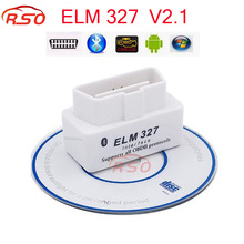 Latest Version V2.1 Super MINI ELM327 Bluetooth ISO OBD/OBD2 Wireless ELM 327 Works ON Android/XP/WIN7 System #EA10429