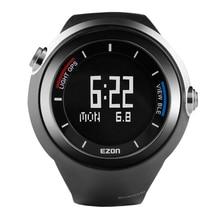 EZON GPS Bluetooth Смарт спортивные часы открытый внедорожных кроссовки шагомер мужская Черный Цифровой WristwatchesG2