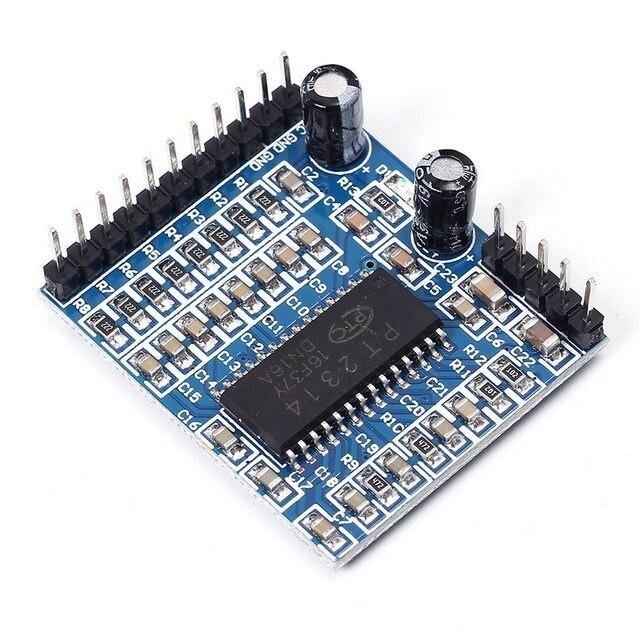 PT2314 Регулировка качество звука модуль голосовой модуль IIC 6 В-10 В обработки звука модуль для Arduino