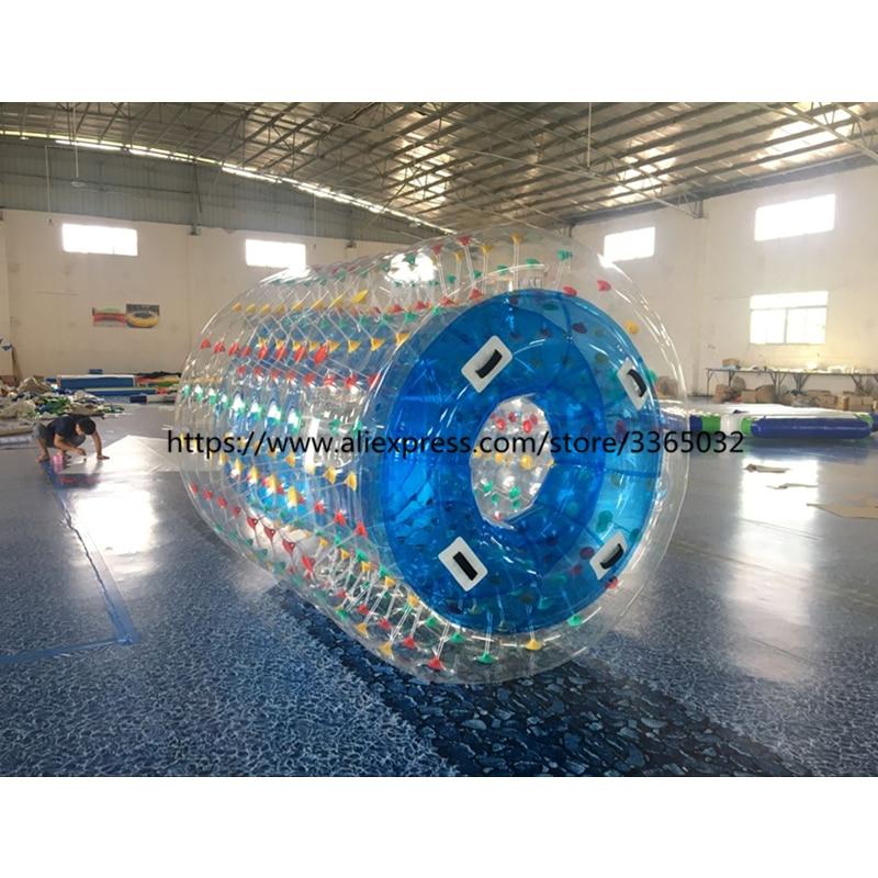 Humains taille aqua zorb ballon gonflable rouleau de l'eau boule de zorb de l'eau boule de roulement pour enfants et adultes