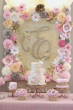 Online Shop more color size DIY paper flower Backdrop for wedding ...