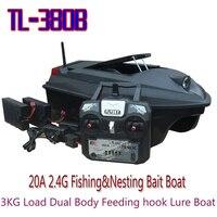 TL 380B 20A г 2,4 г Рыбалка и гнездовой приманки лодка 3 кг нагрузки двойной средства ухода за кожей Кормление крюк (FlySky TX)