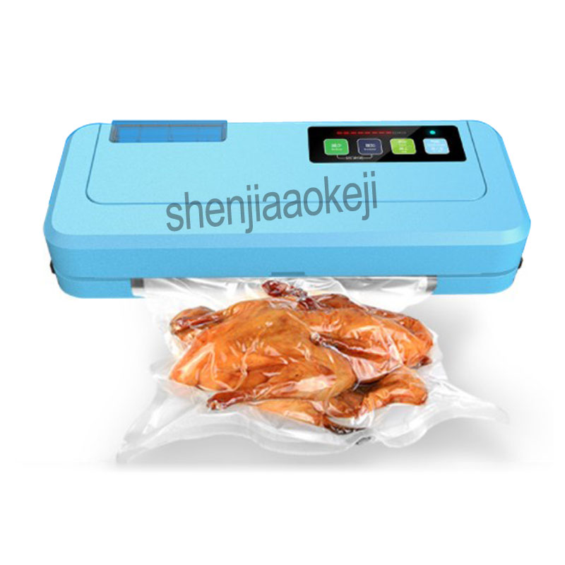 P-290 Household Vacuum Sealing Machine Household Commercial Automatic Dry Wet Dual Use Food Tea Multi-function Sealer 220v 220w