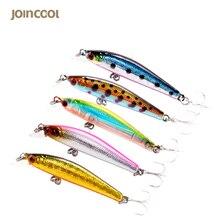 Joincool LYE05 50mm 3g Minnow Fishing wobblers hard lure Artificial Bait Fishing Lures floating carp fishing 3D eyes