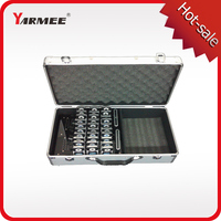 Fast Shipping !!! Yarmee YT100 Audio tour guide system(2 pc transmitters+30 pc receivers+Charge case+all accessories)
