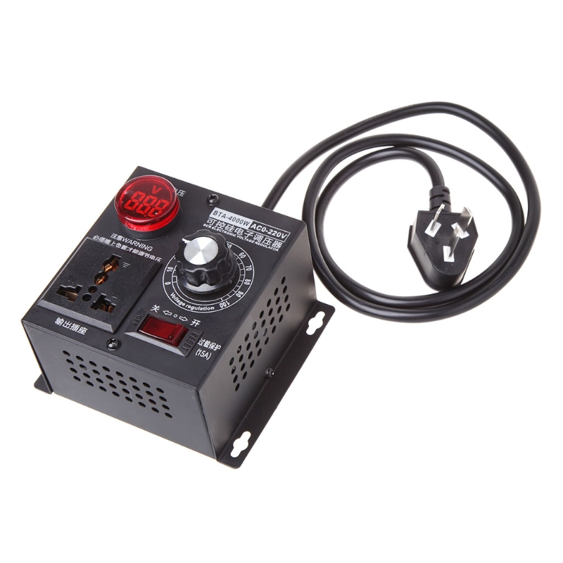 все цены на 4000W AC 220V SCR Electronic Voltage Regulator Thyristor Electronic Controller онлайн