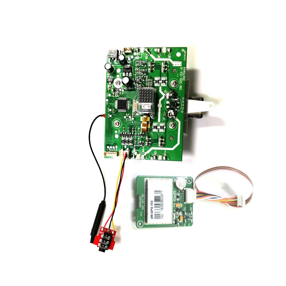Syma x8 pro X8PRO X8-pro RC Helicopter Quadcopter Drone Spare Parts PCB Receiver Board With GPS small Board global drone gw007 rc quadcopter spare parts pcb board receiver board