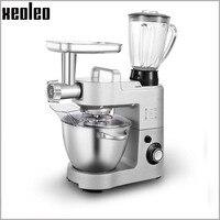 Xeoleo 5 5L Stand Mixer Aluminum Food Mixer Chef Machine With Juice Meat Grinder Sausage Filling