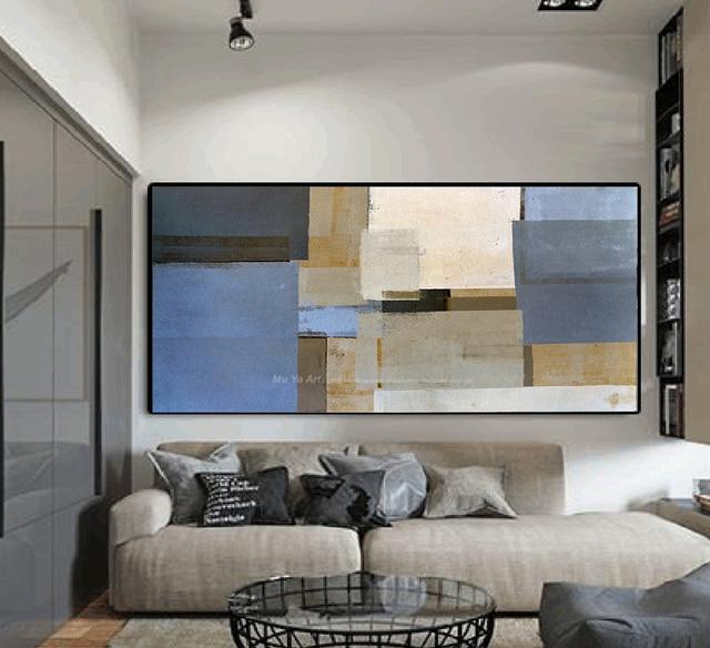 Grande parete della tela dipinti per la parete del soggiorno ...