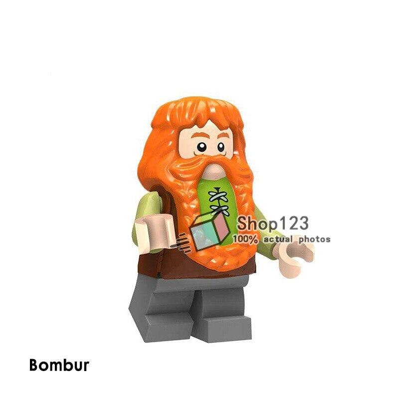 Oyuncaklar ve Hobi Ürünleri'ten Bloklar'de 100 adet/grup Yüzüklerin Efendisi Bilbo Güçlü Orc Tuğla Eğitici Yapı Taşları Çocuklar Için DIY Oyuncaklar Hediye PG8149'da  Grup 2