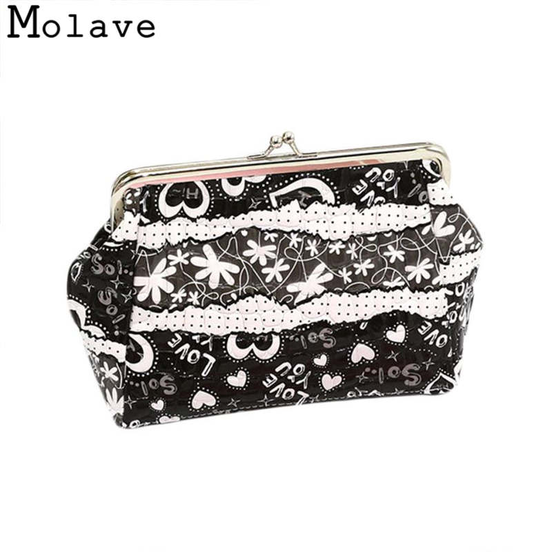 Naivety Cartoon Printing Coins Purses Hasp Coin Purse Small Alligator PU Leather Wallet Bag 30S71214 drop shipping