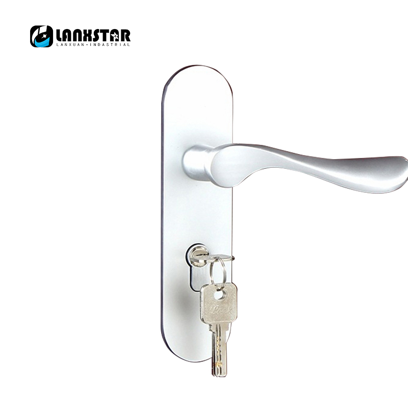 High Quality Handle Lock Indoor Strength Lockset Space Aluminum Bearing Mute Factory Direct Sales Room Door-locks factory interior door lock living room space aluminum mechanical lockset wholesale quality assuranced handle locks