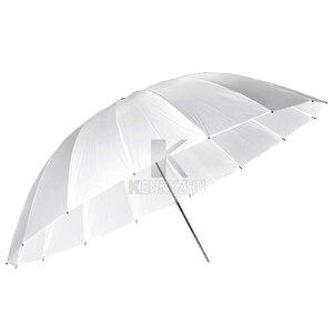 """Image 2 - Godox Photo Studio 60 """" / 150cm 75"""" / 185cm grand parapluie translucide blanc doux pour Flash lumière stroboscopique photographie"""