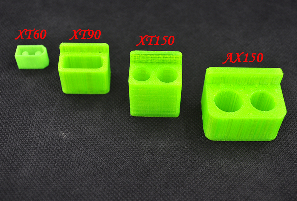 5PCS XT60 XT90 AX150 XT150 3D Printing Battery Plug Protective Case Sparkproof Protection Shell Cover For FPV Drone Batterys