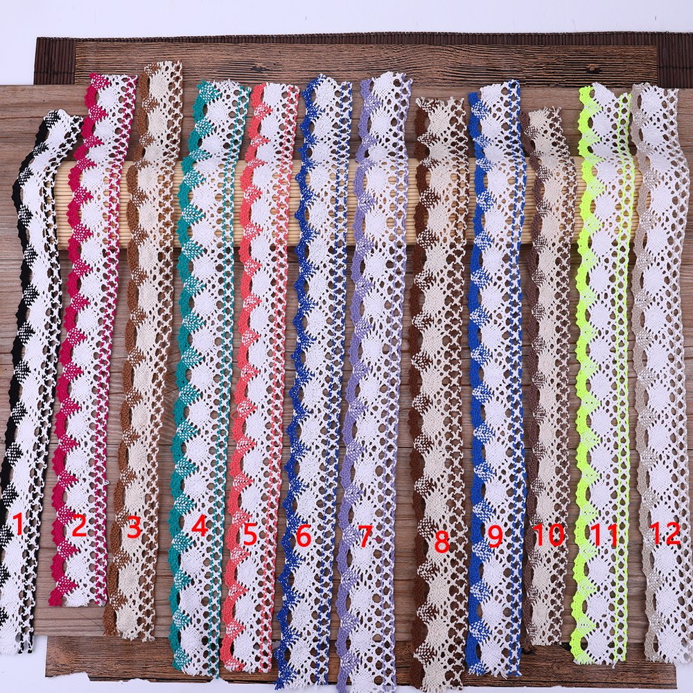 10Yards Length Elastic Embroidered Lace Trim Ribbon Fabric DIY Crafts Sewing Accessories Wedding Hair Garments Supplies