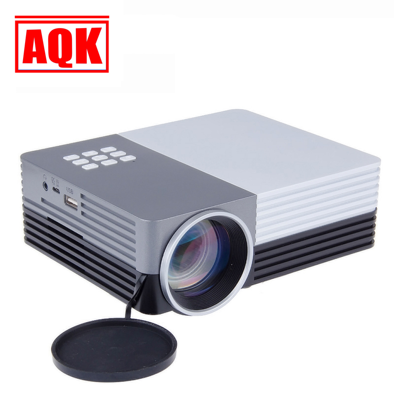 2014 Newest UC30 Mini Pico portable GM50 BLH Projector AV VGA A/V USB SD with VGA HDMI Projector projetor beamer Wholesale