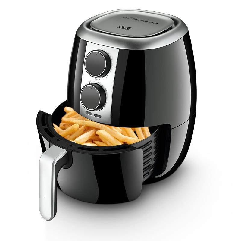La Technologie Nouvelle maison Électrique Friteuse 3.5L Grande Capacité Intelligente Pas D'huile Fumée Air Friteuse Frites Friture Machine Multicooker