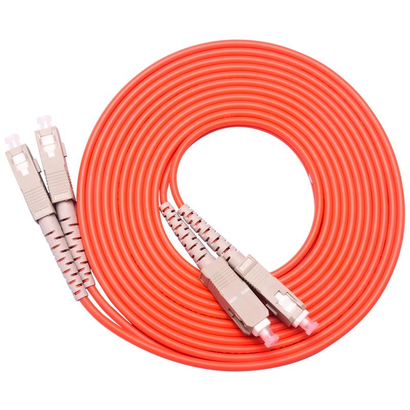 10 Pieces/Lot Jumper Cable SC-SC SC To SC Fiber Optic Optical Patch Cord 3M Duplex Multimode10 Pieces/Lot Jumper Cable SC-SC SC To SC Fiber Optic Optical Patch Cord 3M Duplex Multimode