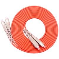 10 Pieces/Lot Jumper Cable SC SC SC To SC Fiber Optic Optical Patch Cord 3M Duplex Multimode