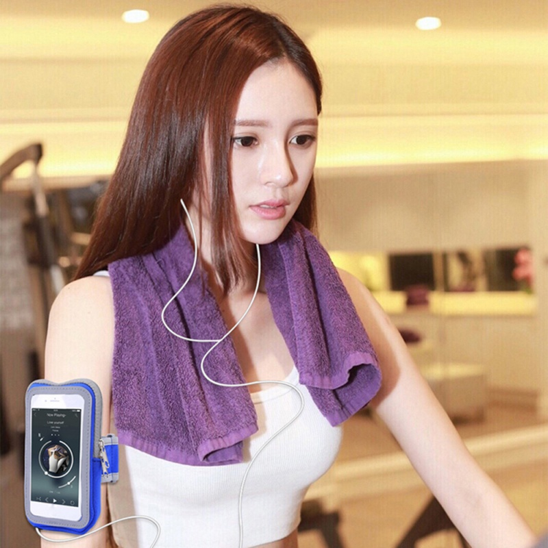 Outdoor Running Phone Bag Arm Thumb Belt Armband Mobile Phone Touch Screen Window Package Cycling Arm Band Waterproof Package