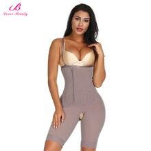 Lover Beauty Slimming Body Shaper Seamless Underbust Shapewear Push Up Slim Bodysuit เอวเทรนเนอร์ Shaper