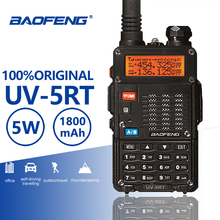 Buy Baofeng UV-5RT Hunting Walkie Talke Security Guard Interphone UV 5RT Advanced Amateur Baofeng UV-5R CB Radio Station UV5R Telsiz directly from merchant!