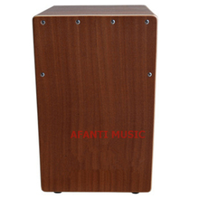 Afanti Music Sapeli wood / Natural Cajon Drum (KHG-175)