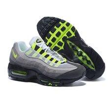 7e78d2f324 Original NIKE Air Max 95 Premium SE Classic Men Running Shoes Essential  Retro Male Cushioning Jogging
