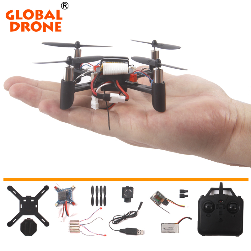 Global Drone DIY Assembly RC Drone 2.4G 4CH 6-Axis Gyro RC Helicopter Quadcopter with WIFI FPV Camera Education Toy Gift For Kid mjx x906t mini rc drone 6 axis gyro quadrocopter rc fpv drone helicopter hd camera wifi mando remote control copter toy