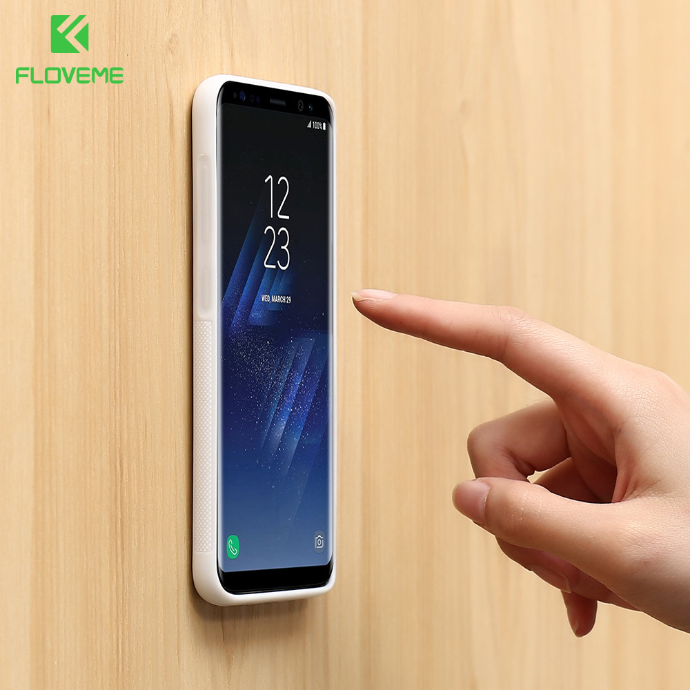 FLOVEME Anti Gravity Case For Samsung Galaxy S8 TPU Magical Antigravity Phone Cases For Samsung Note 8 S7 S6 Edge Adsorbed Cover