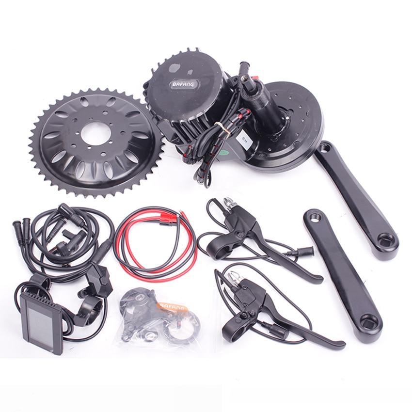Bafang BBSHD 48V1000W Ebike Elektrische Fahrrad Motor Kit 8fun BBS03 Mitte Antrieb Electric Bike Conversion Kit mit 48V/52V Batterie
