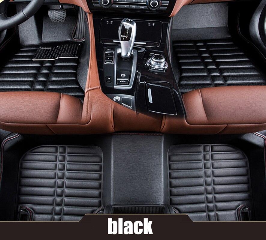 kalaisike изготовленного на заказ автомобиля коврики для Geely всех моделей Эмгранд ec7 в х7 ФЭ1 автомобилей стайлинг авто аксессуары авто коврики