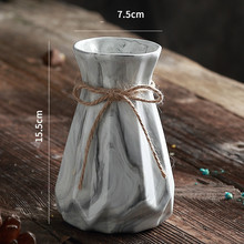 Ceramic Vase for Home Decoration Fashion Floor Dried Flower Pot Creative Gift Household Decoration A $