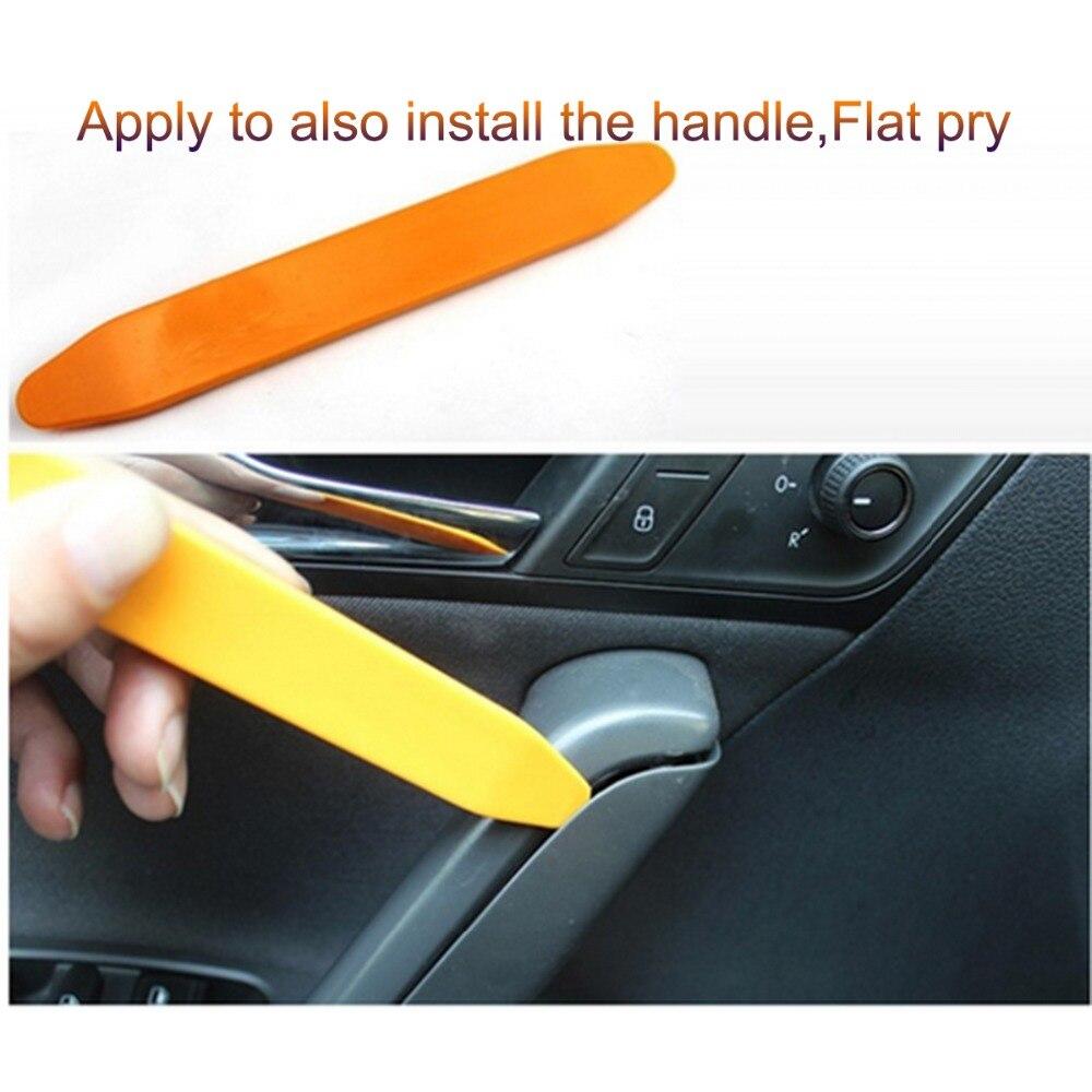 12PCS Plastic Car Radio Door Clip Panel Trim Dash Audio Removal Pry Kit To CZG