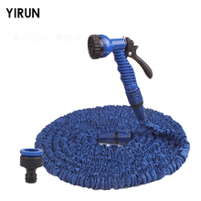 HOT SALE 25-200FT Expandable Magic Flexible Garden Hose To Watering With Spray Gun Garden Car Water Pipe Hoses Watering