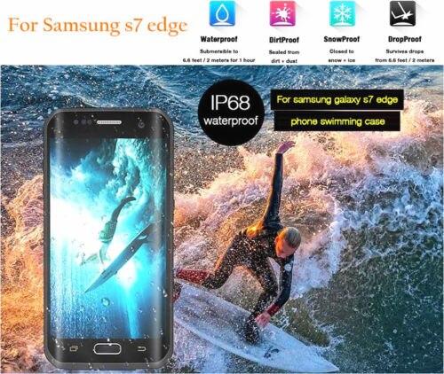 Цена за Лучшее качество redpapper водонепроницаемый чехол жизнь Вода Грязь ударопрочность для Samsung Galaxy S7 край G935 G935F