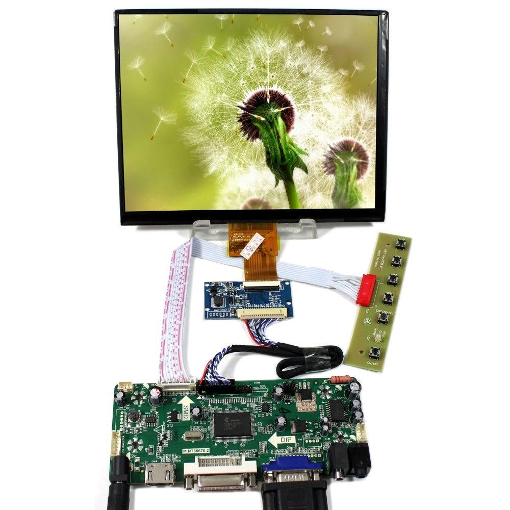 HDMI DVI VGA Audio LCD Control Board With 8