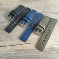 Hot Wholesale 10pcs/lot Watchband 20mm 22mm Pure Canvas Strap Nato Belt Waterproof Watchband Black Blue Amay Green available