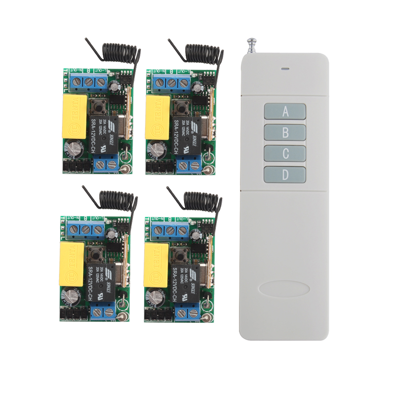 AC220V 10A Wireless Remote Control Switch Long Range 200-3000m Lamp Light LED Remote Mini Lighting Switch 433.92MHZ 200m 3000m long range remote switch far distance relay contact wireless switch courtyard outdoor farm garden lamp led lighting