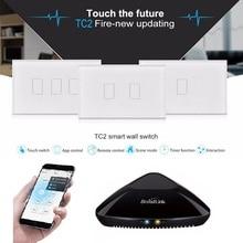 Broadlink TC2 US AC110-230V Smart Light Switch Touch Panel W