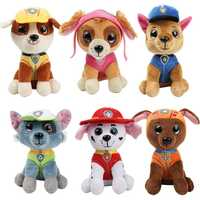 6pcs Paw Patrol Dog Plush Doll Anime Kids Toys Action Figure Plush Doll Model Stuffed and Plush Animals Toy gift