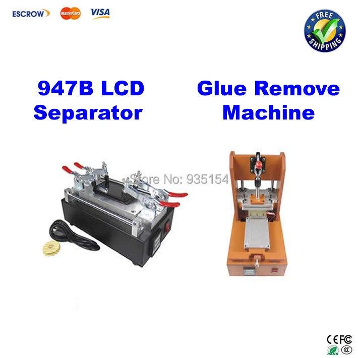 947B Screen refurbishment machine  LCD separator for Iphone Samsung glass refurbishment+Glue remove machine