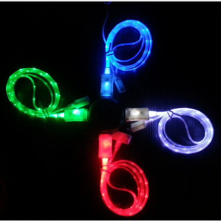 Glowing Charger Cable Iphone 5 +picture | Why It Is Not The