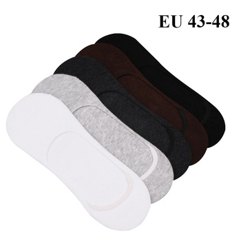 Men Slippers Cotton Socks 5 pairs