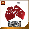 Motorcycle Accessories Foot Peg Heel Plates Guard Protector For YAMAHA MT07 MT-07 2014 2015 2016 NEW STYLE Racing side