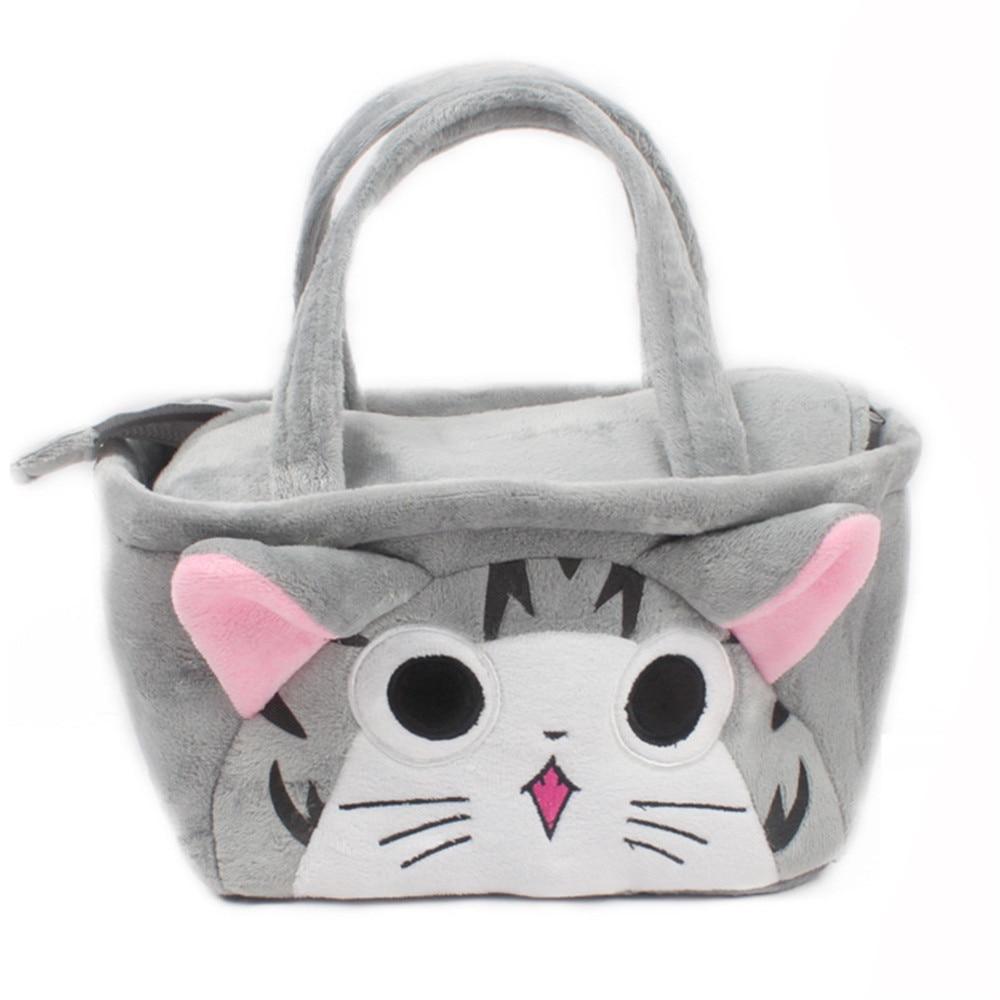 Kawii Cat Handbag for 1 to 3 Year Old Kids Lunch Box Handbag