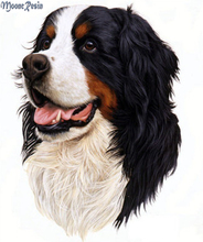 MOONCRESIN 5D Diamond Mosaic Tongue Of The Puppy Embroidery Needlework Diy 3D Painting Cross Stitch Decoration
