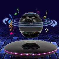 Maglev Speaker Mini Wireless Subwoofer Magnetic Levitation Rotation Bluetooth Speakers With Phone Function New Arrival
