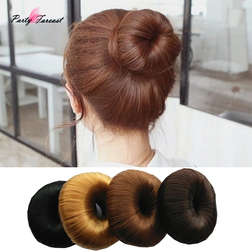 Apparel Accessories 1 Pcs Synthetic Wig Head Band Ball Donut Bun Maker Magic Foam Twist Hair Tool Hair Accessories 2019 Fashion Elastic Headwear New Varieties Are Introduced One After Another