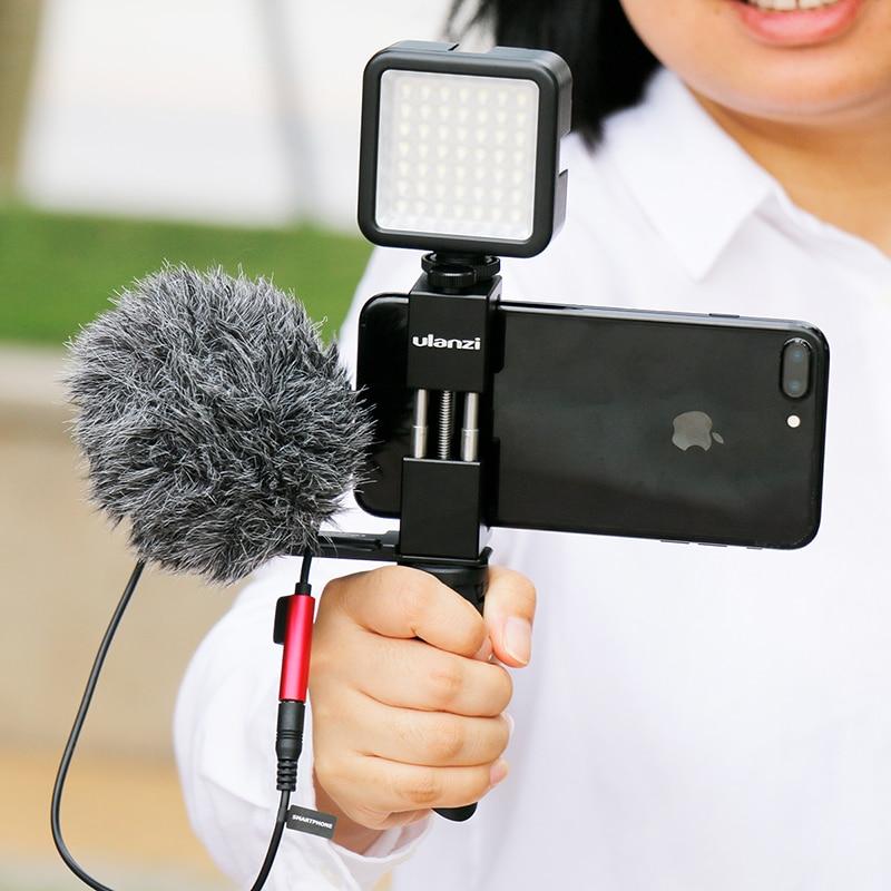 Youtube Vlog Video Maker üçün Ulanzi ST-02 Cib telefonu Tripod - Kamera və foto - Fotoqrafiya 6